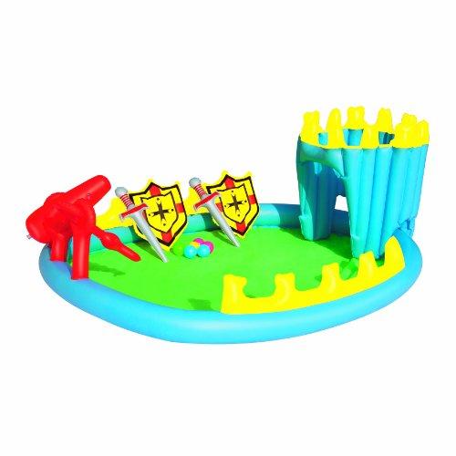 Bestway 52169 - Planschbecken Siege Play Pool Set, 186 x 150 x 68 ()