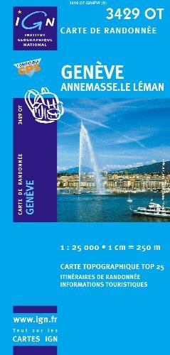 Geneve / Annemasse / Le Leman GPS: Ign.3429ot