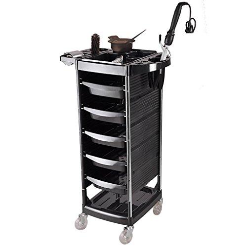Cl carrello per scaffali carrello - carrello per parrucchiere carrello per parrucchiere portautensili per macchina per parrucchiere porta per ostriche tinto in forno * @ * (size : 52.5 * 37.93cm)
