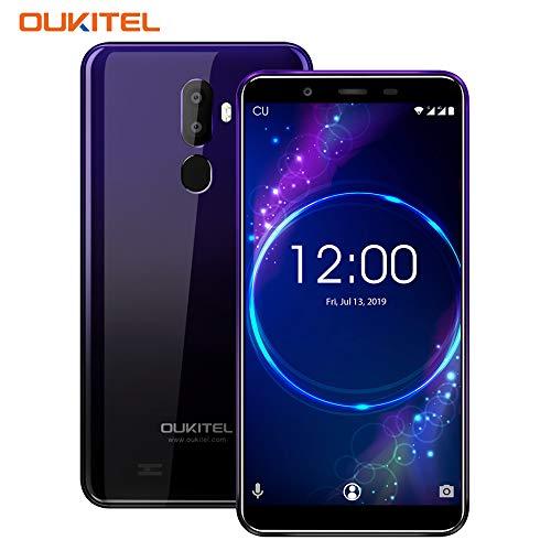 OUKITEL U25 Pro Smartphone, 5.5' 4G LTE Telefono Cellulari Sbloccato, 3200mAh, Android 8.1 Octa Core 4GB+64GB, Fotocamera 13MP+2MP, Frontale 5MP, Impronte Digitali, Dual SIM