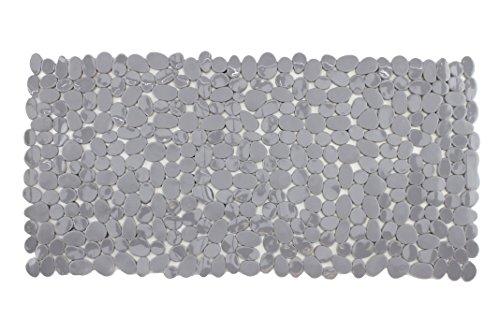 Badewanneneinlage Duscheinlage Duschmatte in Steinoptik - Rechteckig - Grau - ca. 70 x 35 cm - von Brandseller