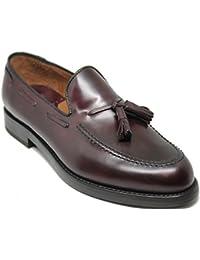 Lottusse 5624 Zapato Mocasín con borlas,Piel de Máxima Calidad,Color ...