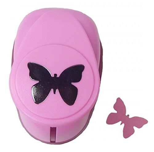 efco Stanzer M, Schmetterling Motivstanzer, Kern: Metall, Pink, 7,5 x 5 x 5 cm