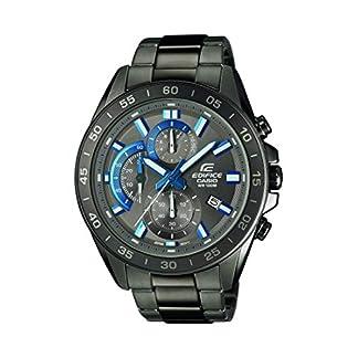 Casio Reloj Analógico para Hombre de Cuarzo con Correa en Acero Inoxidable EFV-550GY-8AVUEF