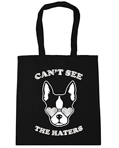 hippowarehouse-i-cant-see-the-haters-sassy-french-bulldog-tote-shopping-gym-beach-bag-42cm-x38cm-10-