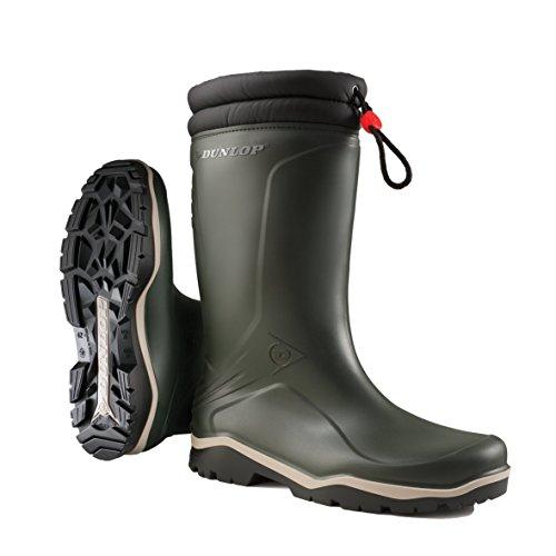 RS.BLIZZ GROEN 38, Unisex-Erwachsene Halbschaft Gummistiefel, Grün (Grün(Groen) 08), 38 EU (Kinder Winter Handwerk)