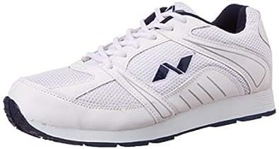 Nivia Hawks Jogger Shoe, Men's 5 UK (White)