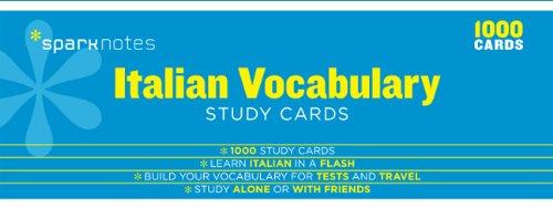 italian-vocabulary-sparknotes-study-cards
