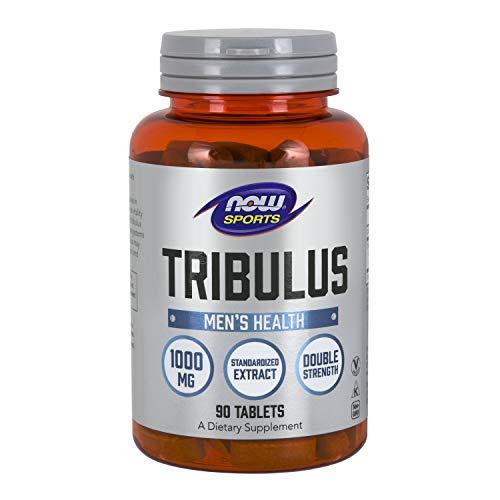 Now Foods I Tribulus 1000mg I Standardisierter Extrakt I Vegetarisch I Vegan I 90 Tabletten -