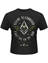 Asking Alexandria Fighting On My Own Official Mens New Black T Shirt