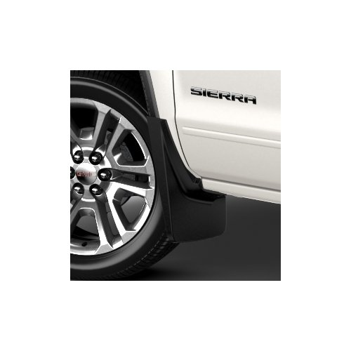 gmc-sierra-1500-gm-front-black-grained-molded-splash-guards-22894860-by-general-motors