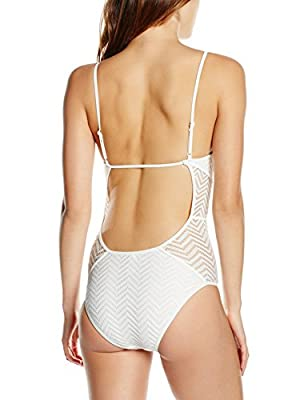 New Look Women's Lace Panel Swimsuit