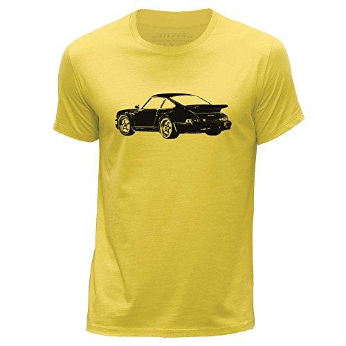 stuff4-hommes-x-grande-xl-jaune-col-rond-t-shirt-stencil-art-de-voiture-911-turbo-82