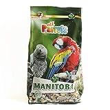 MANITOBA - Mangime variato per Tutti i Tipi di pappagalli