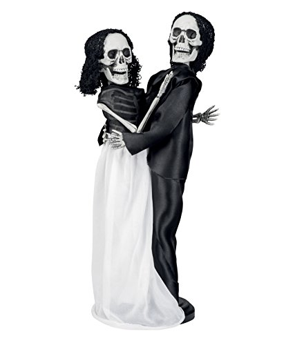 Boland 72140 - Deko-Figur Skelett Brautpaar, Sonstige (Horror Brautpaar Kostüm)