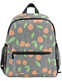 Preisvergleich für FANTAZIO Kinder Rucksäcke Süßes Obst Schultasche Büchertasche Daypack