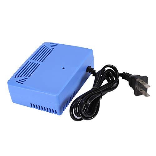Huairdum Luftreiniger, AC220-240V Intelligente Luftreiniger Ionisierer Negativionen-Anionen-Generator in der Luft Blau