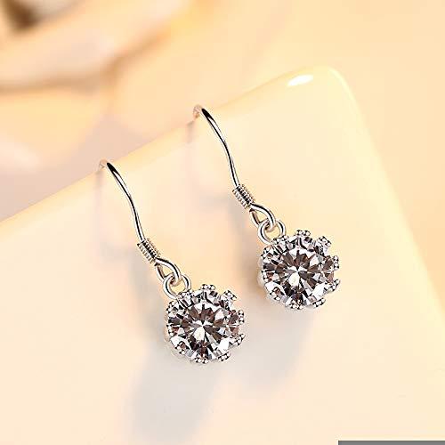 S925 Silber Ohrringe weibliche Muschel Perle Schmuck einfache Mode Student Ohrringe Freundin Geburtstagsgeschenk I zu senden
