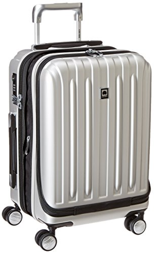 delsey-luggage-helium-titanium-international-carry-on-exp-spinner-trolley-silver-one-size