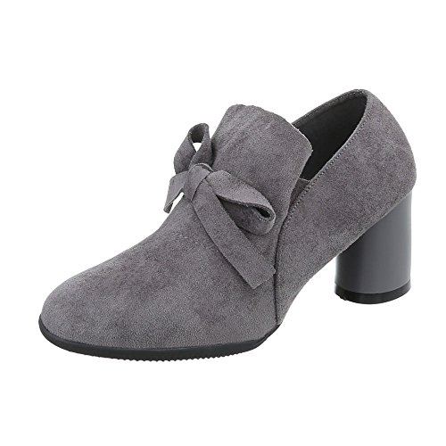 Stiefelparadies Damen Stiefeletten Warm Gefütterte Stiefel Schnürstiefeletten 151513 Schwarz Arriate 37 Flandell g5fpbZ9g4h