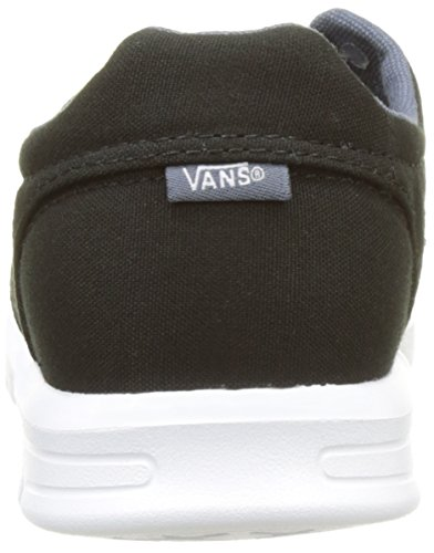 Vans Unisex-Kinder Uy Iso 15 Sneakers Schwarz (Canvas Black/dark Slate)