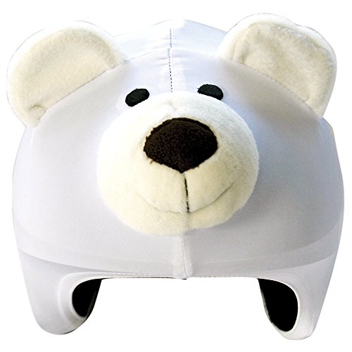 Coolcasc Animals Ours Polaire couvre casque Multicolore