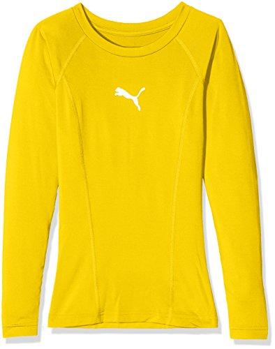 Puma 655921 05, Camiseta de Manga Larga Infantil, Amarillo (Cyber Yellow), 152