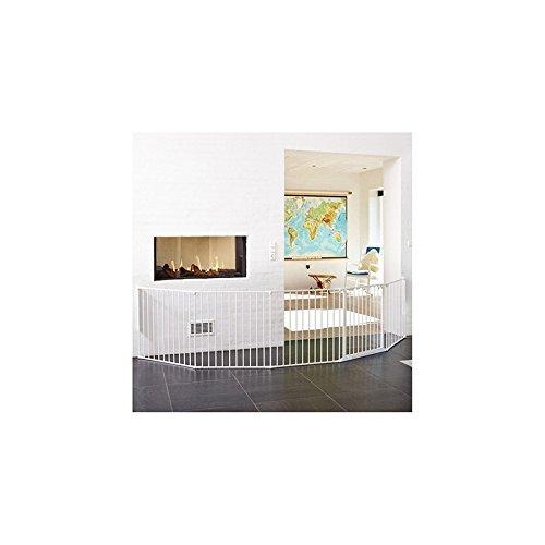 BabyDan 56826-10600-10 Flex XXL Türschutzgitter, shwarz