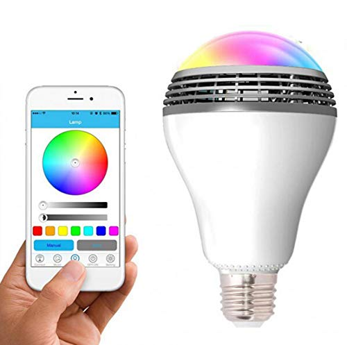 Smart Electronics Home Automation Modules Earnest Smart Home Multicolor Light Bulbs Cellphone Wifi Voice Control Rgb Energy Saving Dimming Led Bulb Compatible Alexa Google Home