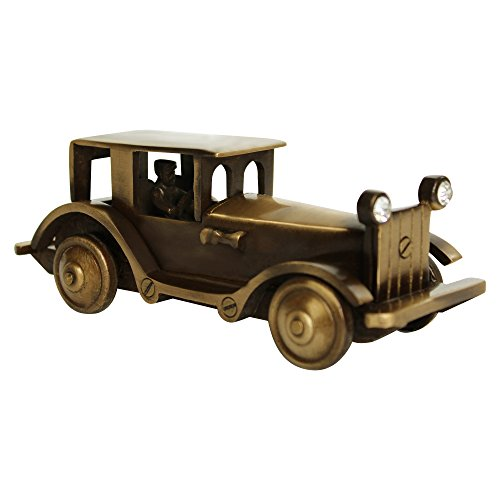 ITOS365 Brass Showpiece Decorative Antique Gift Items Car Model, Home Interior Decor Item, Table Decoration