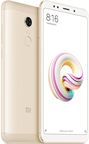 Xiaomi Redmi 5 - Smartphone de 5 7  Full HD  14 nm Snapdragon octa-core  32 GB  12 MP  Android 7 0  color oro  versi  n espa  ola