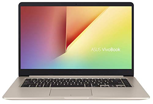 "ASUS Vivo Book S510UA-BR249T - Ordenador Portátil de 15.6"" HD (Intel Core i3-7100U, 8 GB RAM, 256 GB SSD, Intel HD Graphics 620, Windows 10 Home) Dorado - Teclado QWERTY Español"