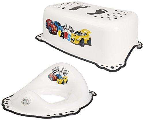 Supreme Baby Cars weiß WC-Training Sitz + Schritt Hocker 2Set Potty Training Wc-schritt