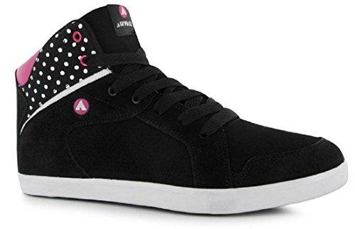 mesdames-airwalk-amarillo-mid-mesdames-chaussures-skate-noir-noir-rose