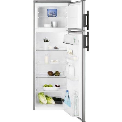 Electrolux EJ2801AOX2 Autonome 265L A+ Argent, Acier inoxydable réfrigérateur-congélateur - Réfrigérateurs-congélateurs (265 L, SN-ST, 40 dB, 4 kg/24h, A+, Argent, Acier inoxydable)