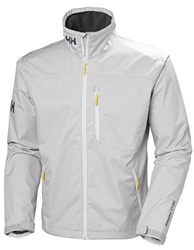 Helly Hansen Herren Crew Jacket Silver Grey, L