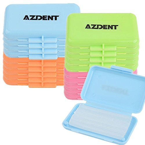 AZDENT® Zahnmedizinische Kieferorthopädie Wachs Mehrfarbiger 5 Boxen/Schmecken 4 Schmecken Total (20 Kisten Verpackt)