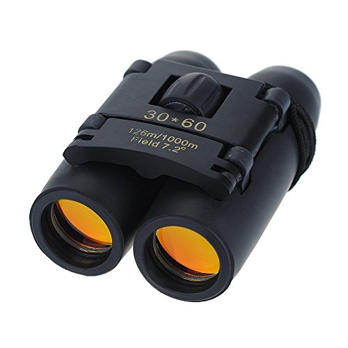 Venus Wolf Binocular 30x60 Dual Focus telescope Optics Zoom Monokular Fernrohr Fernglas Spektiv Teleskop Geeignet für Golf, Camping, Wandern, Angeln, Vogelbeobachtung, Konzerte