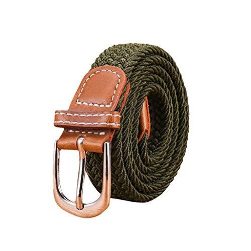 Reversible Seide Hosen (YBWZH Damen Leder Perlen Gürtel für Jeans Gürtel für Hosen Jeansgürtel Fashion Gürtel Breiter Taillengürtel Hüftgürtel Bindegürtel Stretchgürtel Ledergürtel in vielen Farben(K))