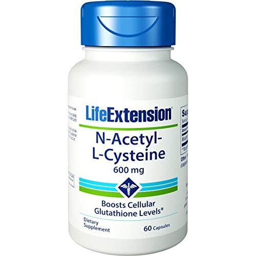 Life Extension - N-acetil cisteína 600 mg. - 60 cápsulas vegetarianas