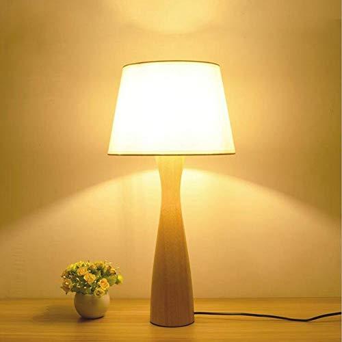Nordic einfache moderne massivholz log schlafzimmer modell raumdekoration tischlampe persönlichkeit warme stoff holz bett -