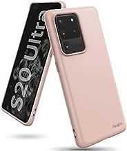 جراب Ringke لهاتف Galaxy S20 Ultra Case Air-S Series رفيعة ومرنة مقاومة للصدمات TPU لهاتف Samsung Galaxy S20 U