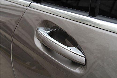 ABS Auto Tür Griff Trim Tür Dekoration Teile Auto Styling Außen Zubehör