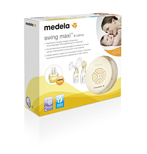 Milchpumpe Medela Swing maxi - elektrische Doppel-Milchpumpe, Schweizer Medizinprodukt - 9