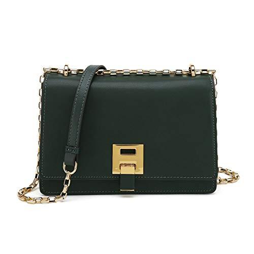 IYSI Querschnitt Square Single Shoulde Bag Bright Face Fashion Wilde Small-Capacity Casual Geeignet Für Frau Arbeit Einkaufen Reise Usw,Green