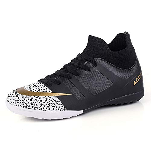 Football Shoes Boys Sneakers Girls Trainers Gifts for Junior Rugby Breatheable Indoor-Outdoor Sneakers Unisex Soccer Boots