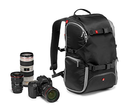 Manfrotto MB MA-BP-TRV Advanced Reise-Rucksack mit Kamera Protection System Manfrotto Flash