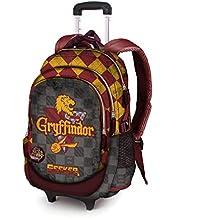 Karactermania Harry Potter Quidditch Gryffindor-Mochila Running HS con Carro Mochila Tipo Casual, 53