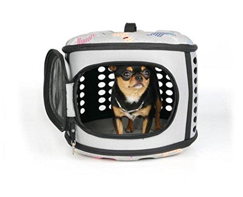 ZZHH Profili di scatola domestico portatile borsa cane fuori di borse per notebook . gray