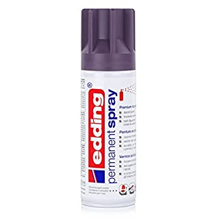 Edding Permanent Spray Paint, Semi-Gloss Purple